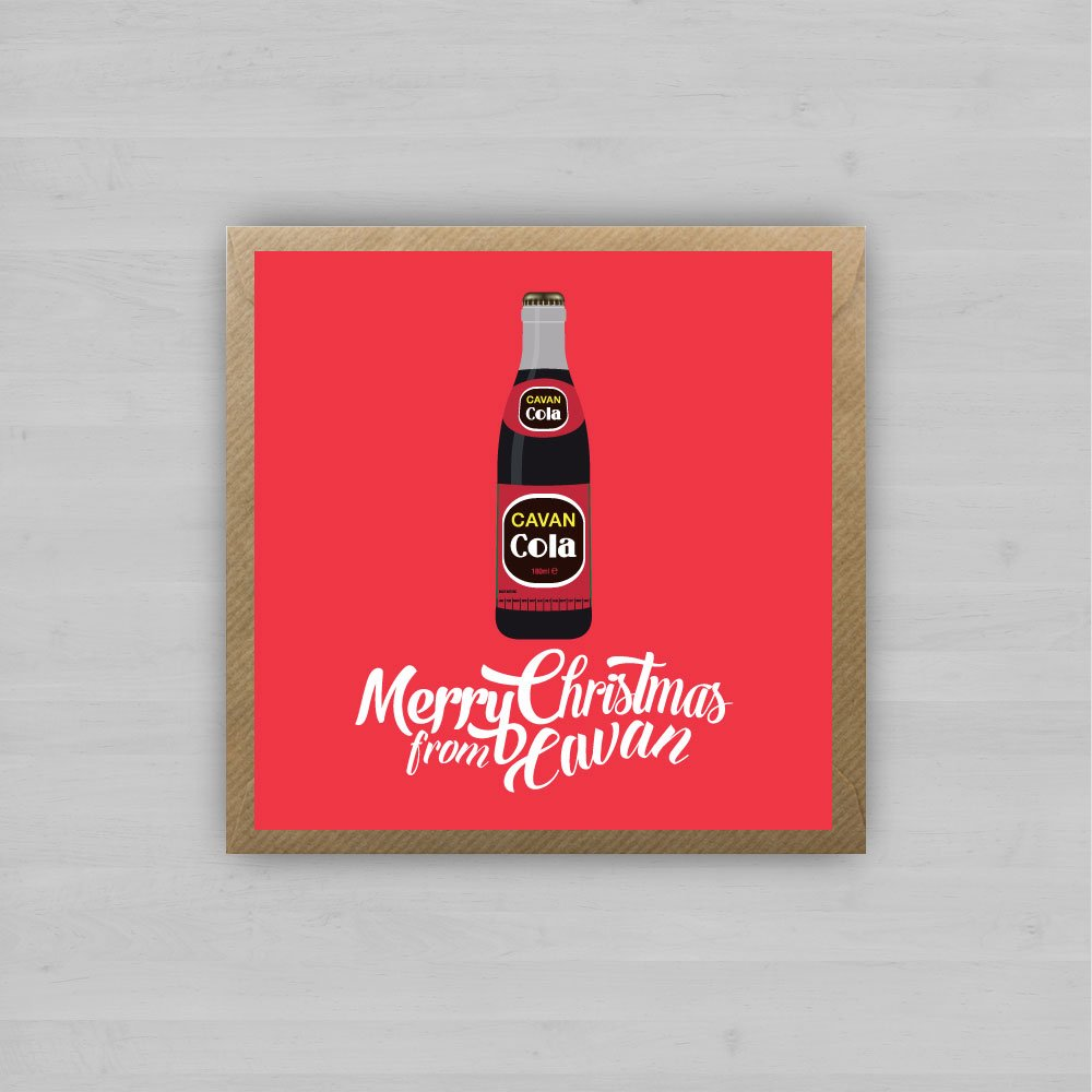 Christmas Cavan Cola + Envelope
