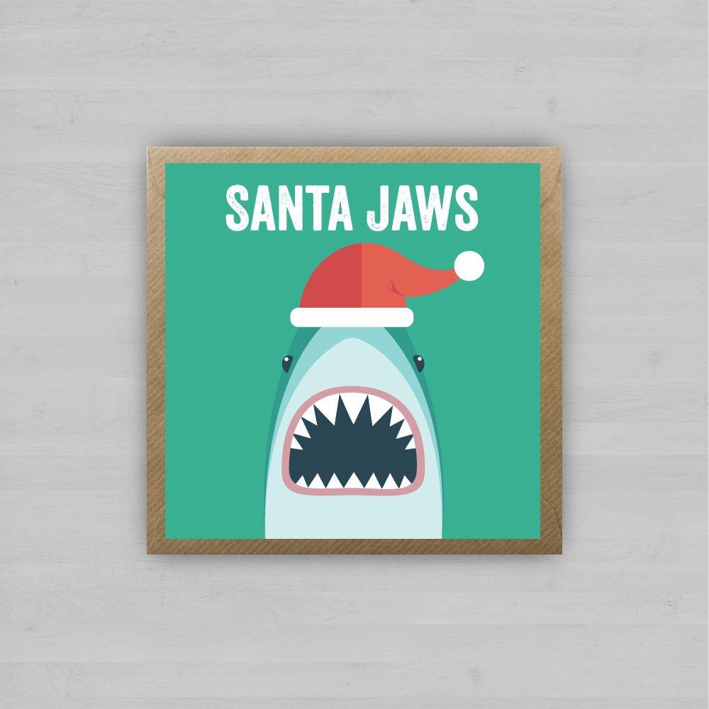 Santa Jaws + Envelope