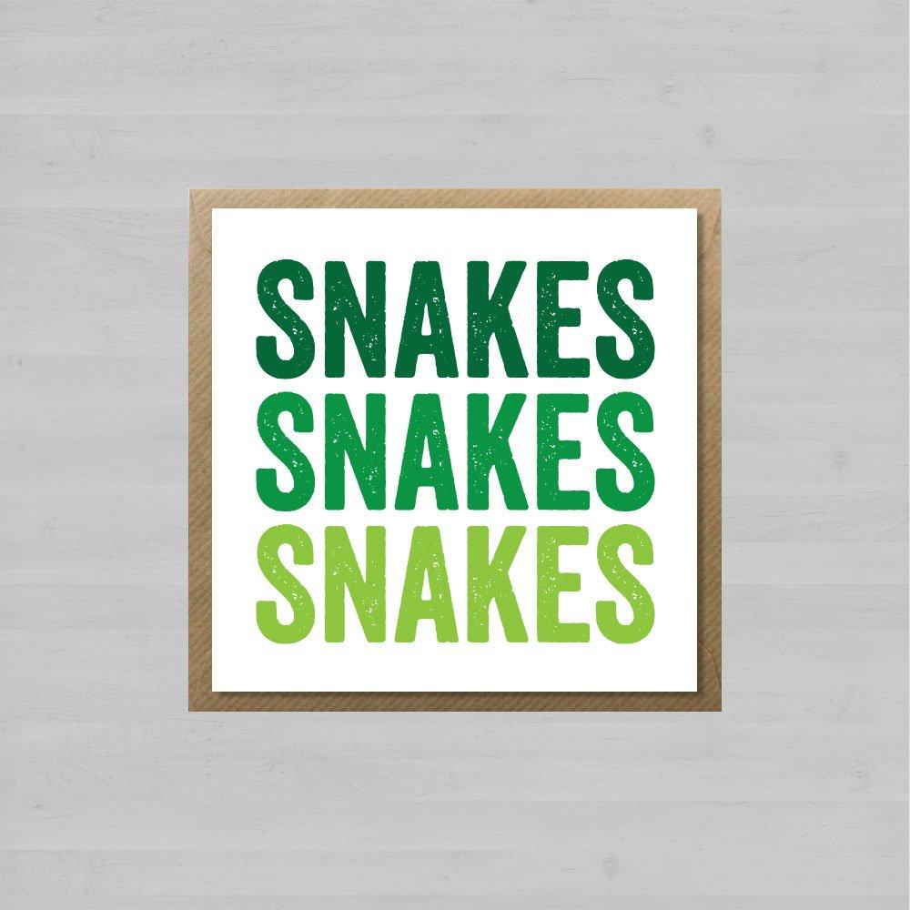 Snakes Snakes Snakes + Envelope
