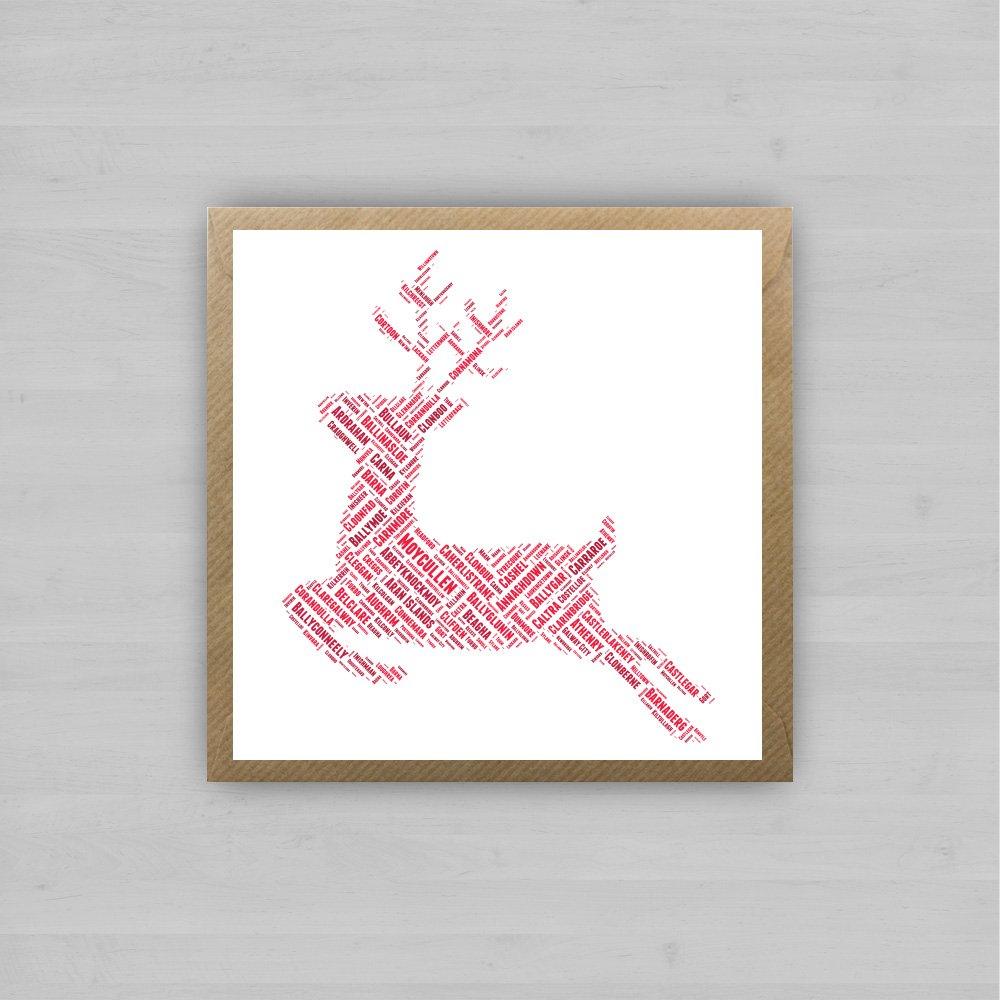 Galway Reindeer + Envelope