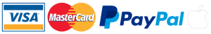 Visa Mastercard Paypal Apple