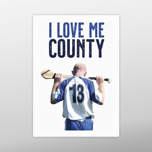 I Love Me County | John Mullane | homebird.ie | Homebird Design