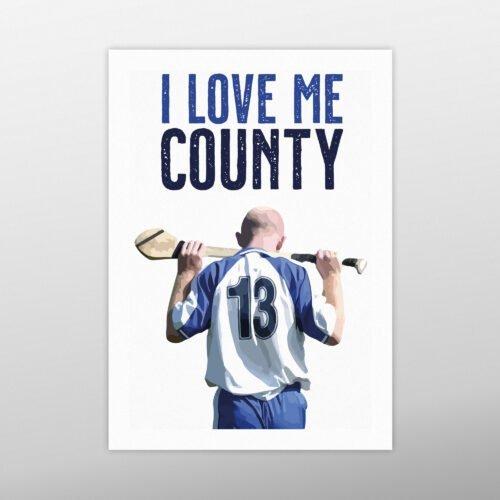 I Love Me County   John Mullane   homebird.ie   Homebird Design