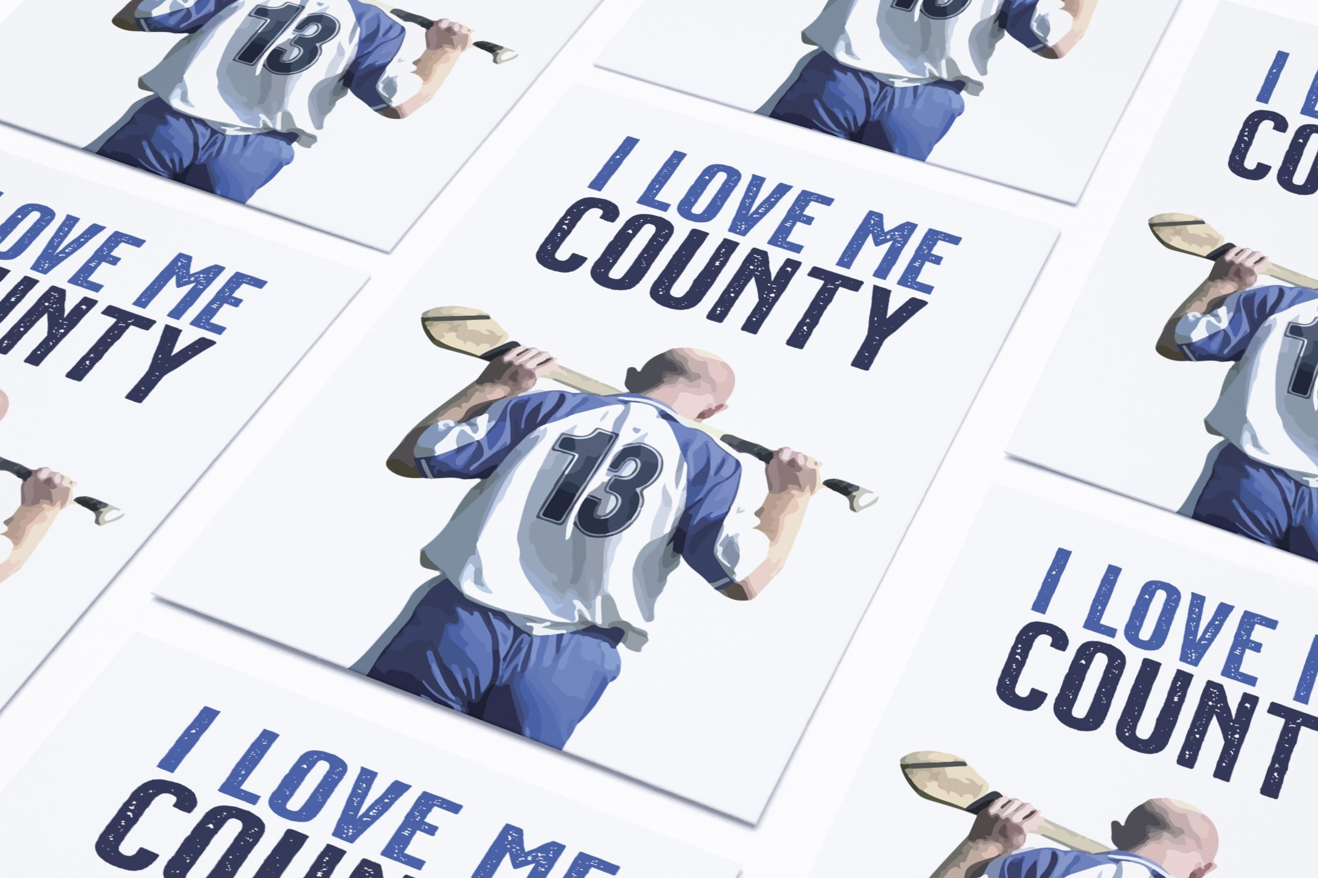 I Love Me County | Homebird | Irish Wall Art | Artwork