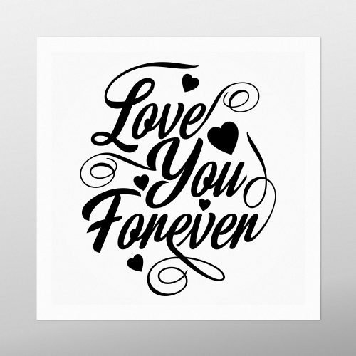Love You Forever Artwork | Homebird | Irish Art & Prints
