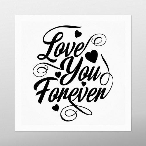 Love You Forever Artwork | Homebird | Irish Art & Prints