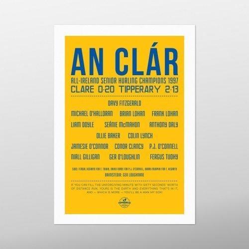 Clare All-Ireland Champions 1997 | Homebird | GAA Prints