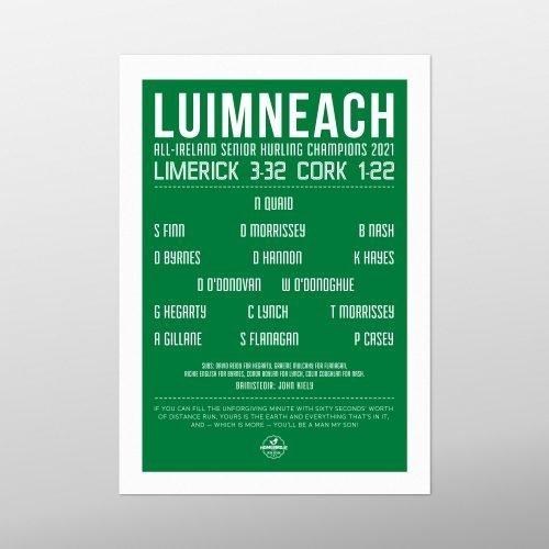 Liam MacCarthy Limerick Artwork 2021 | Homebird Design